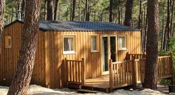 cabanon pour camping région paca