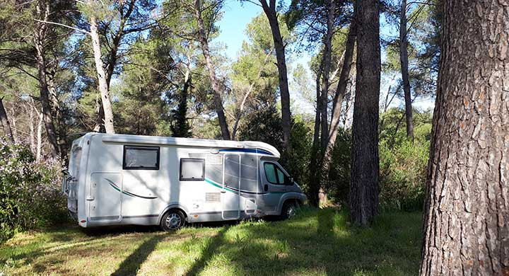 emplacement mobil home camping