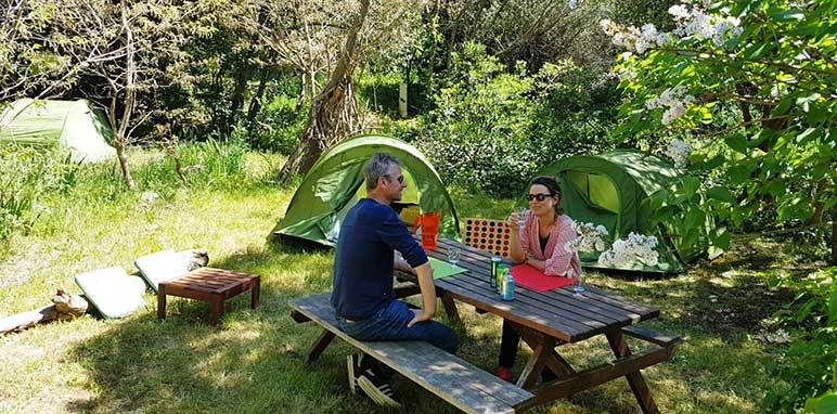 emplacement nature camping region paca