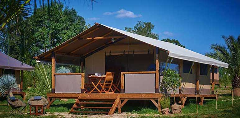 lodge kenya camping 2 étoiles