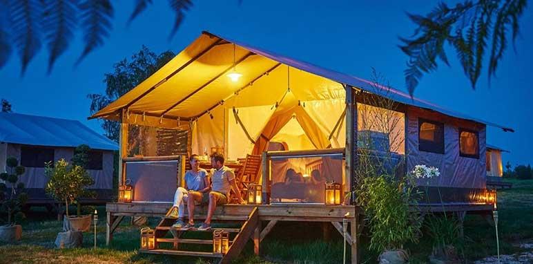 tente de camping au galaban