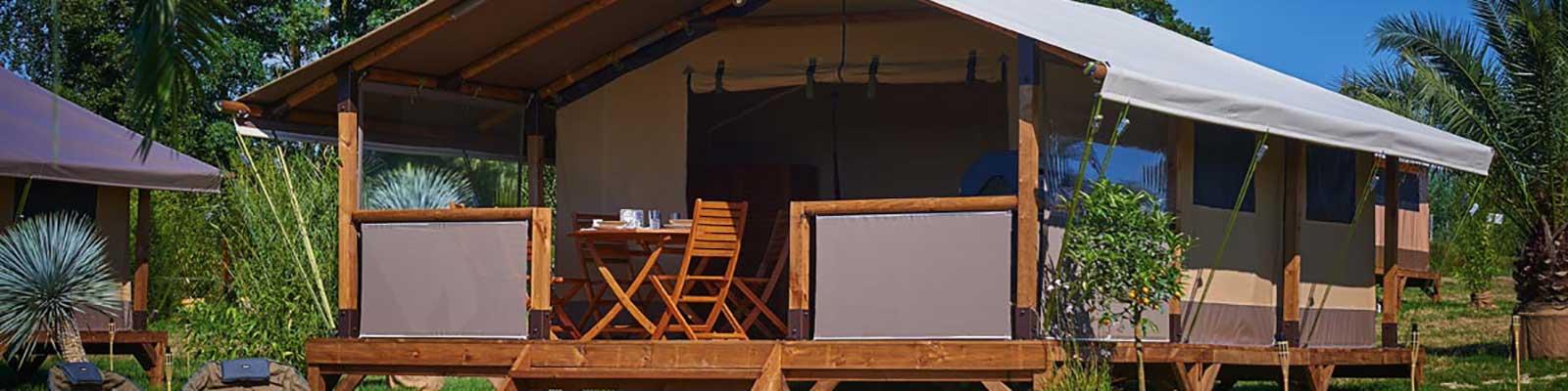tente style kenya pour camping paca