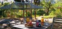 location tente dans les air camping paca
