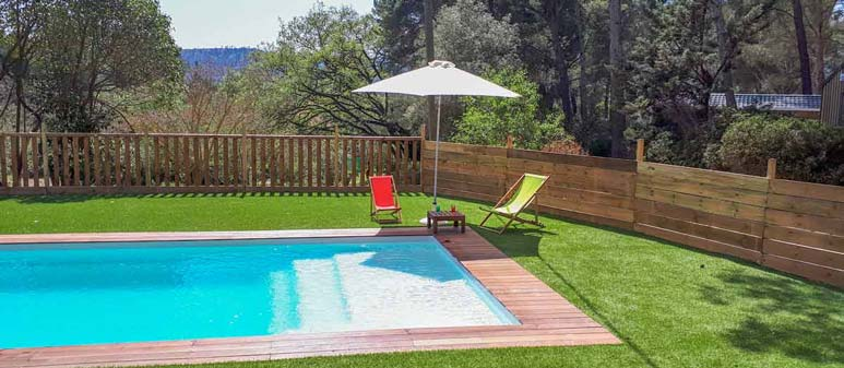 location camping piscine paca