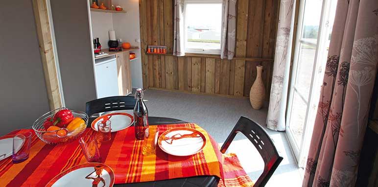 intérieur cabanon camping à aubagne