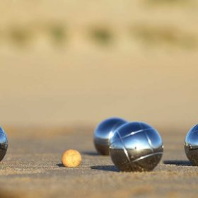 petanque provence camping