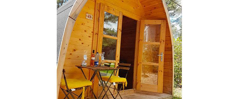 mobil-home en bois à Marseille