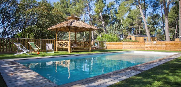 camping avec piscine Marseille