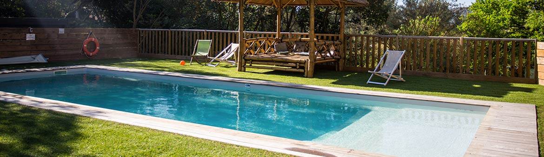 piscine du camping garlaban