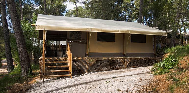 Location d'une tente lodge Kenya non loin de Marseille à