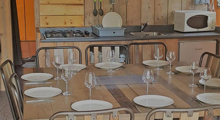 cuisine lodge safari