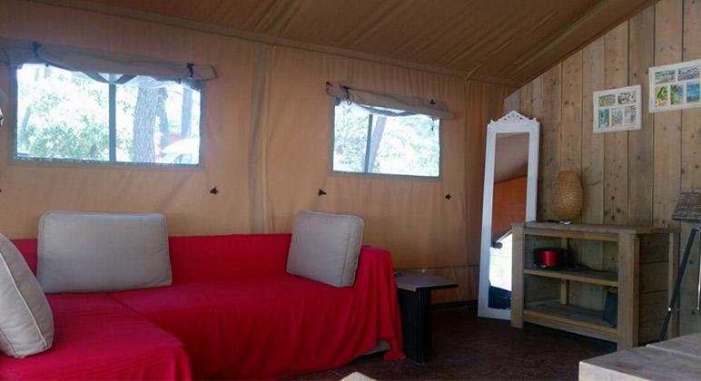 interieur lodge safari