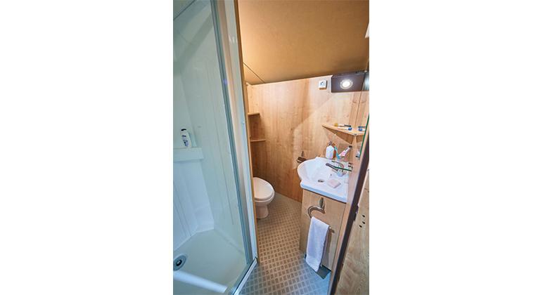 salle de bain lodge victoria